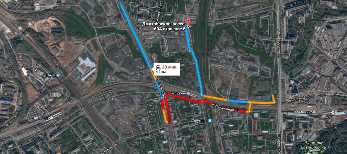 Карта проезда пункт металлолома