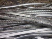 Алюминий электротехнический (кабель) провода очищенные, шина.